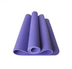 Коврик для фитнеса и йоги с чехлом Newt TPE Eco NE-5-80-18-V - фиолетовый, 183х61х0,6 см