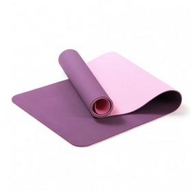 Коврик для фитнеса и йоги с чехлом Newt TPE Eco NE-4-15-2-V - фиолетовый, 183х61х0,6 см