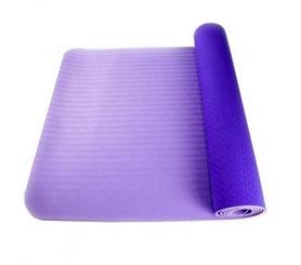 Коврик для фитнеса и йоги с чехлом Newt TPE Eco NE-4-15-2-VP - сиреневый, 183х61х0,6 см