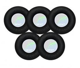 Набор кистевых эспандеров резиновое кольцо Newt Power Grip TI-1590-5, 30-70 кг