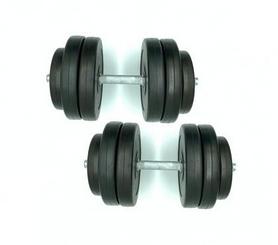 Гантели наборные композитные Newt Rock Pro-R NE-PL-R-014-2, 2 шт по 14,5 кг