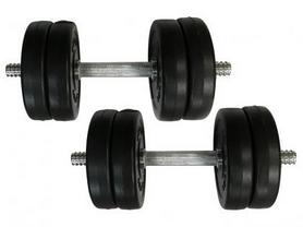 Гантели наборные композитные Newt Rock Pro-R NE-PL-R-006-2, 2 шт по 6 кг