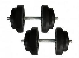 Гантели наборные композитные Newt Rock Pro-R NE-PL-R-009-2, 2 шт по 9 кг