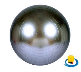 Мяч для фитнеса (фитбол) Newt HMS 487-626-1-G - серый, 65 см