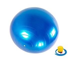 Мяч для фитнеса (фитбол) Newt HMS 487-626-2-B - синий, 75 см