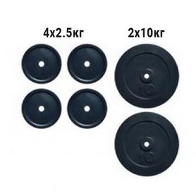Набор дисков композитных Newt Rock NE-K-COM30, 30 кг