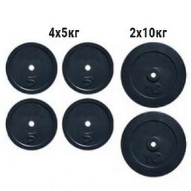 Набор дисков композитных Newt Rock NE-K-COM40, 40 кг