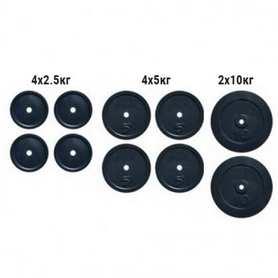 Набор дисков композитных Newt Rock NE-K-COM50, 50 кг
