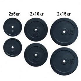 Набор дисков композитных Newt Rock NE-K-COM60, 60 кг