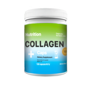 Коллаген EntherMeal COLLAGEN+, 120 капсул (ABPR100)