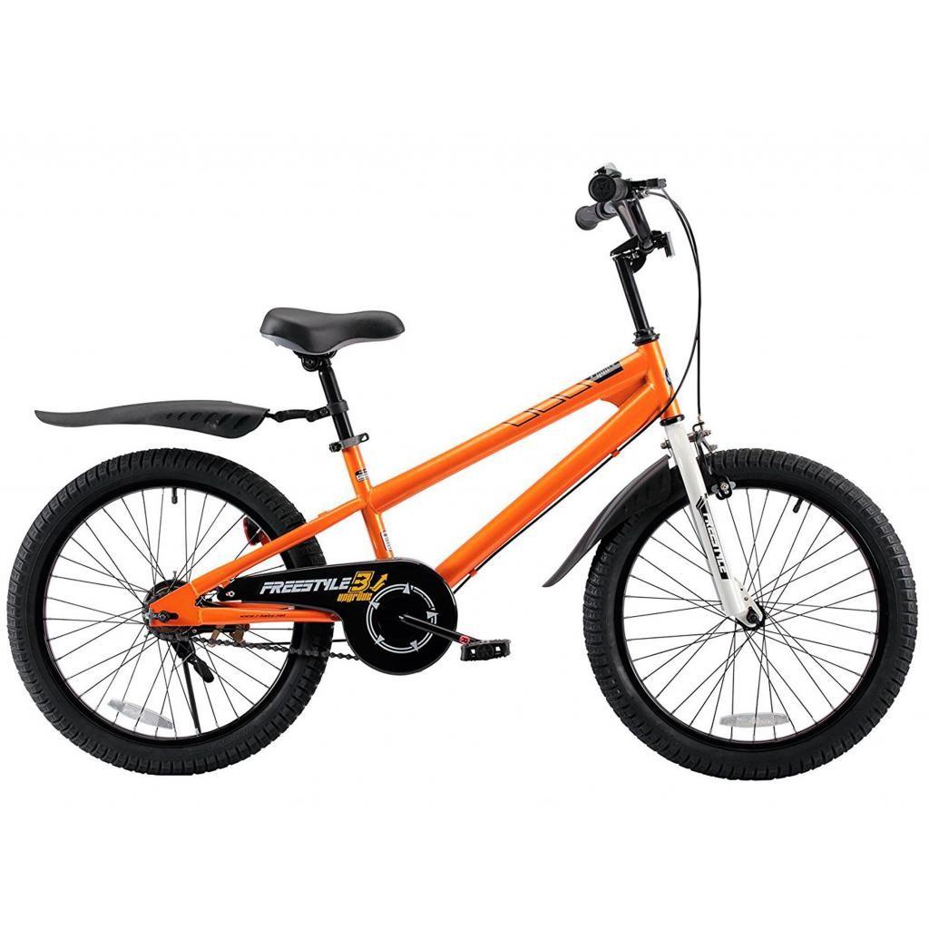 "Велосипед детский RoyalBaby Freestyle RB20B-6-ORG - оранжевый, 20"""