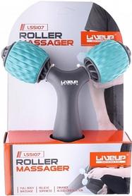 Массажер LiveUP Y-Shaped Hand Massager LS5107-g, голубой - Фото №2