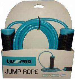 Скакалка LivePro PVC Jumprope LP8286-b - Фото №2