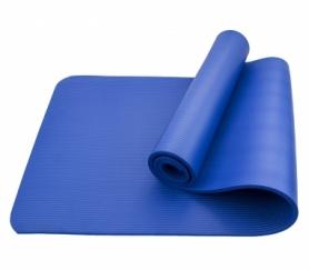 Коврик (мат) для йоги и фитнеса SportСraft NBR синий, 183х61х1 см (ES0006)