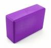 Блок для йоги SportСraft Yoga Brick EVA фиолетовый, 22,5х15х8 см (ES0010)