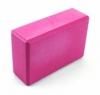 Блок для йоги SportСraft Yoga Brick EVA розовый, 22,5х15х8 см (ES0011)