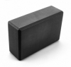 Блок для йоги SportСraft Yoga Brick EVA чёрный, 22,5х15х8 см (ES0014)