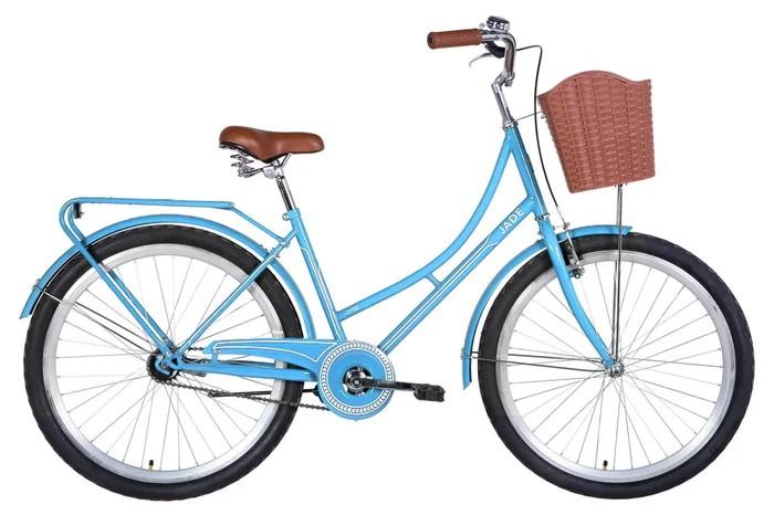 """Велосипед городской Dorozhnik Jade 26"""" голубой, рама - 17"""" (OPS-D-26-141)"""