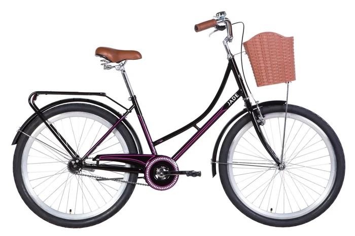 """Велосипед городской Dorozhnik Jade 26"""" фиолетовый, рама - 17"""" (OPS-D-26-142)"""