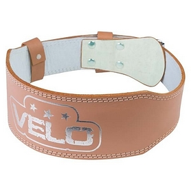 Пояс штангиста кожаный узкий Velo (VLS-17026)