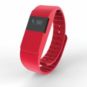 Часы спортивные Loooqs Keep fit красные (P330.754)