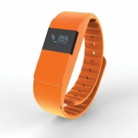 Часы спортивные Loooqs Keep fit оранжевые (P330.758)