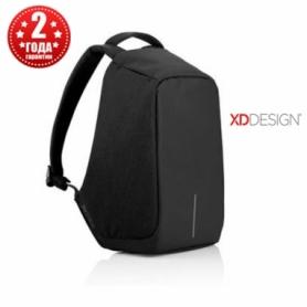 Рюкзак антивор городской XD Design Bobby Anti-Theft 15,6 Black, 11 л (P705.541)