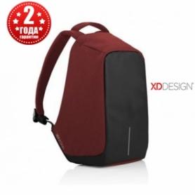 Рюкзак антивор городской XD Design Bobby Anti-Theft 15,6 Red, 11 л (P705.544)