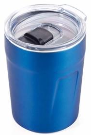 Термочашка Troika синяя, 160 мл (CUP65/BL)