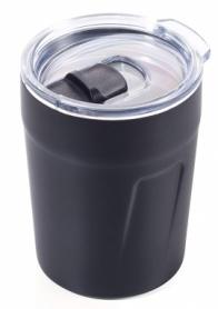 Термочашка Troika чёрная, 160 мл (CUP65/BK)