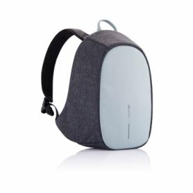 Рюкзак городской антивор с тревожной кнопкой XD Design Bobby Cathy голубой, 8 л (P705.215)