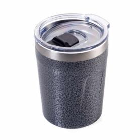 Термочашка Troika металлик, 160 мл (CUP65/TI)