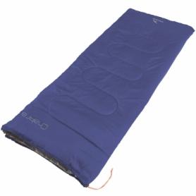 Мешок спальный (спальник) Easy Camp Chakra/+10°C Blue Left (928795)