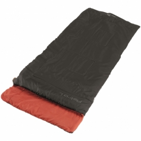 Мешок спальный (спальник) Easy Camp Astro L/+6°C Black Left (928792)