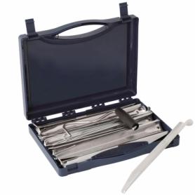 Колышки Outwell Super U Peg Box Silver, 20 шт по 24 см (928777)