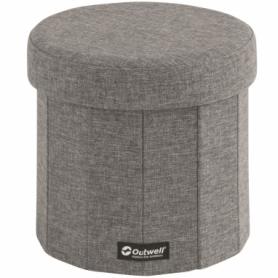 Органайзер кемпинговый Outwell Dawlish Low Seat & Storage Grey Melange, 22 л (470367)