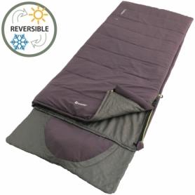 Мешок спальный (спальник) Outwell Contour Reversible/+2°C Dark Purple Right (928753)