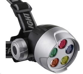 Фонарь налобный LED 5 ламп