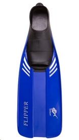 Ласты c закрытой пяткой Dolvor Flipper F17JR синие, размер - 34-35