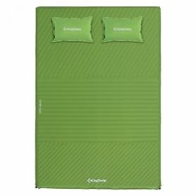 Коврик самонадувающийся KingCamp Comfort Double зеленый (KM3594)