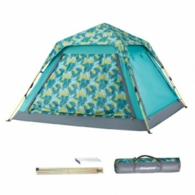 Палатка четырехместная KingCamp Positano Palmgreen (KT3099)