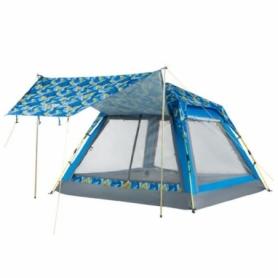 Палатка четырехместная KingCamp Positano Palmblue (KT3099)