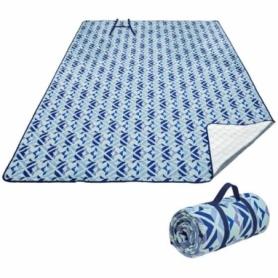 Коврик для пикника KingCamp Ariel XXL Blue, 200х200 см (KP2004)