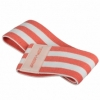 Резинка для фитнеса тканевая SportVida Hip Band красная, М (SV-HK0252) - Фото №3
