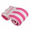 Резинка для фитнеса тканевая SportVida Hip Band розовая, S (SV-HK0254)