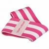 Резинка для фитнеса тканевая SportVida Hip Band розовая, S (SV-HK0254) - Фото №3