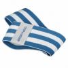 Резинка для фитнеса тканевая SportVida Hip Band синяя, М (SV-HK0255) - Фото №3