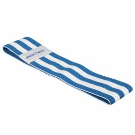 Резинка для фитнеса тканевая SportVida Hip Band синяя, М (SV-HK0255) - Фото №4