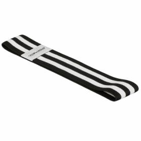 Резинка для фитнеса тканевая SportVida Hip Band черная, L (SV-HK0256) - Фото №4