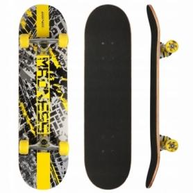 Скейтборд SportVida Madness желтый (SV-RD0001)